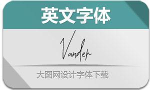 Vander(英文字体)