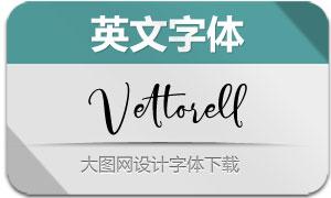 Vettorell(英文字体)