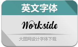 Workside系列四款英文字体