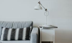 房间室内简约风格家具摆放高清图片