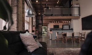 沙发桌椅家具陈设布置摄影高清图片