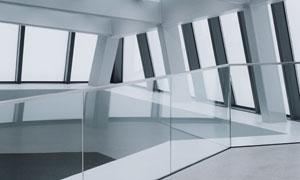 时尚现代风格建筑内景摄影高清图片