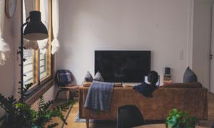 紧凑型小户型客厅内景摄影高清图片