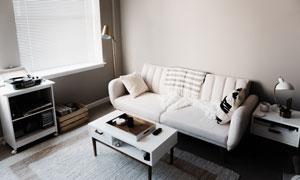 简约北欧风格室内装修摄影高清图片