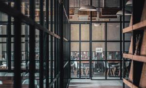 餐厅店铺内部空间陈设摄影高清图片