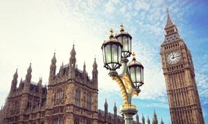 英国伦敦大本钟建筑摄影图片