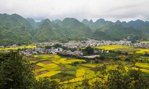 贵州万峰林美景摄影图片