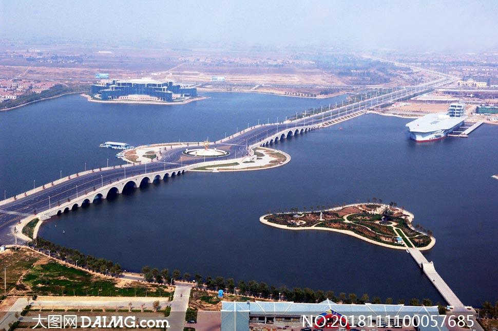 滨州市中海国家水利风景区摄影图片
