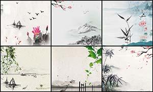淘宝中国风主题背景设计PSD源文件