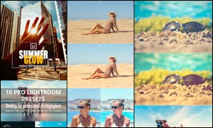 10款夏季写真照片美化处理LR预设