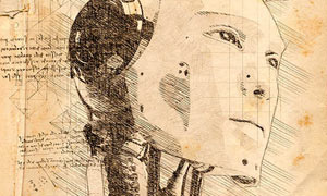 逼真的手繪草圖和鉛筆畫效果PS動作