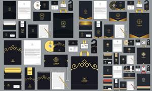 手提袋等企業視覺元素設計矢量素材