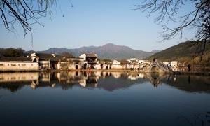 美丽的宏村高清摄影图片