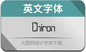 Chiron(英文字体)