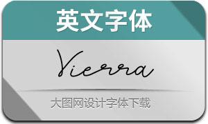 Vierra(英文字体)