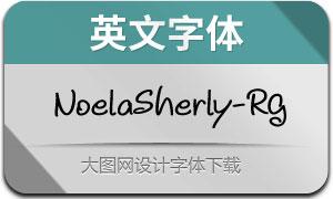 NoelaSherly-Regular(英文字体)