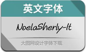 NoelaSherly-Italic(英文字体)