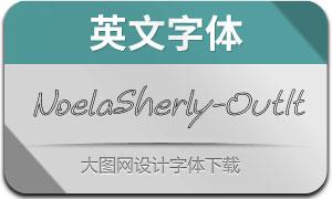 NoelaSherly-OutlineIt(英文字体)