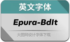 Epura-BoldItalic(英文字体)