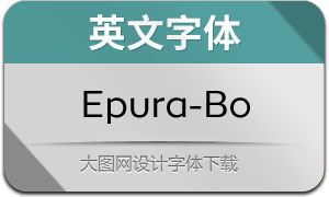 Epura-Book(英文字体)