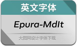 Epura-MediumItalic(英文字体)