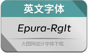 Epura-RegularItalic(英文字体)