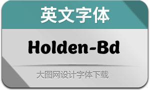 Holden-Bold(英文字体)