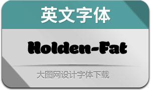 Holden-Fat(英文字体)
