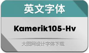 Kamerik105-Heavy(英文字体)