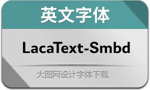 LacaText-SemiBold(英文字体)