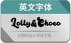 LollyandChoco(英文字体)