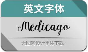MedicagoScript(英文字体)