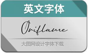 OriflameScript(英文字体)