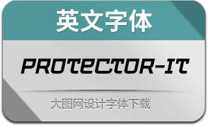 Protector-Italic(英文字体)