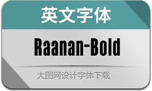 Raanan-Bold(英文字体)