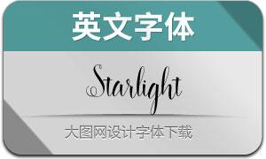 StarlightScript(英文字体)