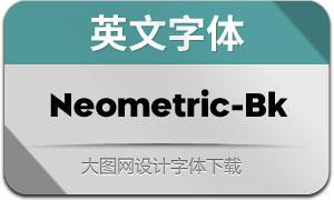 Neometric-Black(英文字体)