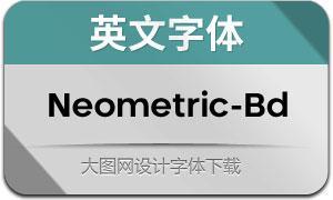 Neometric-Bold(英文字体)