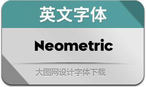 Neometric系列18款英文字體