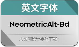 NeometricAlt-Bold(英文字体)