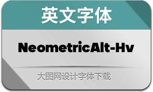 NeometricAlt-Heavy(英文字体)