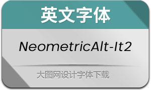 NeometricAlt-Italic2(英文字体)