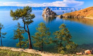 美丽海天山水自然风光摄影高清图片