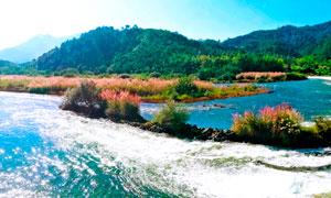 丽水仙都风景区全景摄影图片