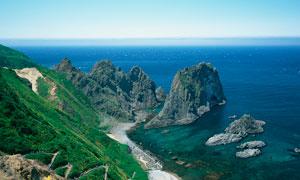 海边美丽的景色高清摄影图片
