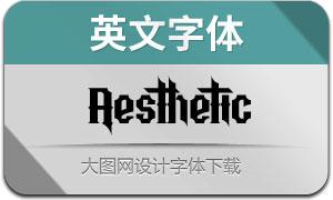 Aesthetic(英文字体)