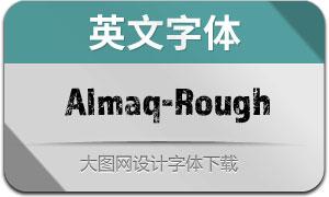 Almaq-Rough(英文字体)