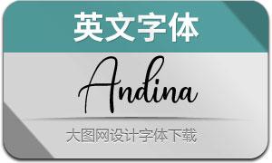 Andina(英文字体)