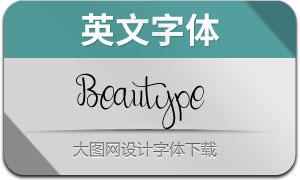 Beautype(英文字体)