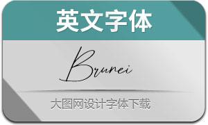 BruneiDarussalam(英文字体)